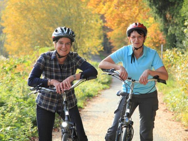 Radfahrer im Sauerland