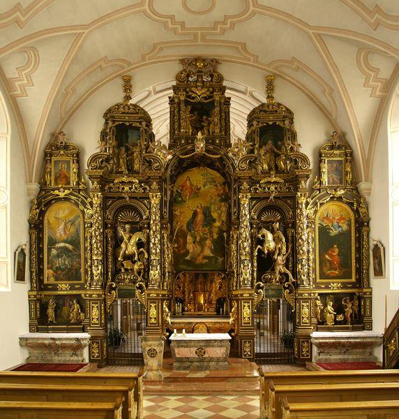 Altar der Wallfahrtskirche Sammarei