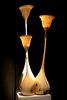 Lichtobjekte aus Esche, Foto: Christian Masche