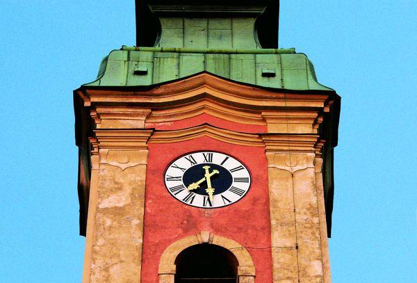 Der Turm der Asambasilika Altenmarkt / Osterhofen