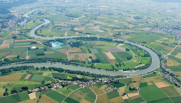 Die Mühlhamer Donauschleife