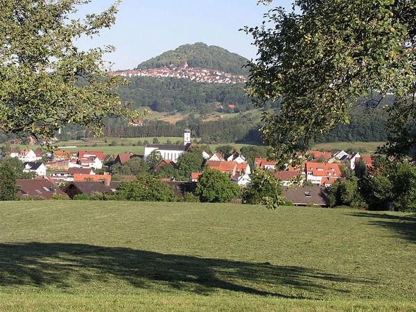 Blick auf Ottenbach