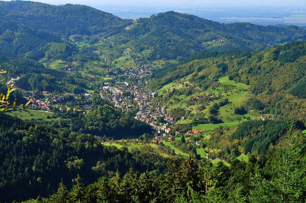 Ortsansicht Ottenhöfen im Schwarzwald