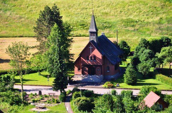 Die evangelische Kirche Ottenhöfen