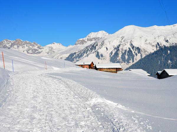 Panoramareiche Winterwanderung zur Bodahütte