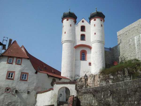 Die Burg in Parsberg