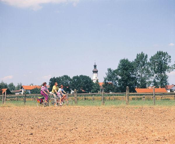 Radfahrer Kirchham