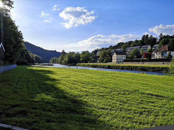 Zeltplatz an der Ilz in Passau