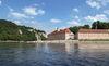 Das Kloster Weltenburg liegt ebenso am Donau-Radweg