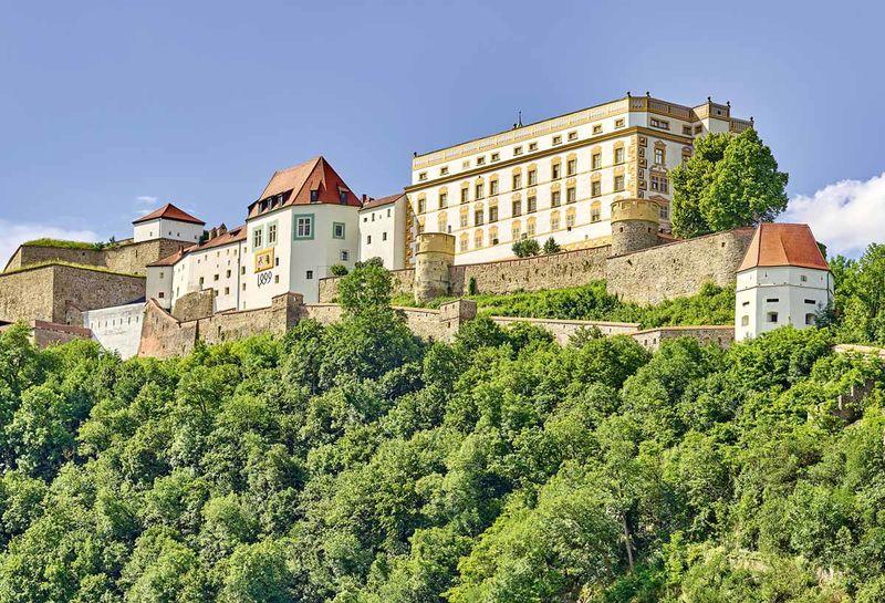 Ansicht der Veste Oberhaus in Passau