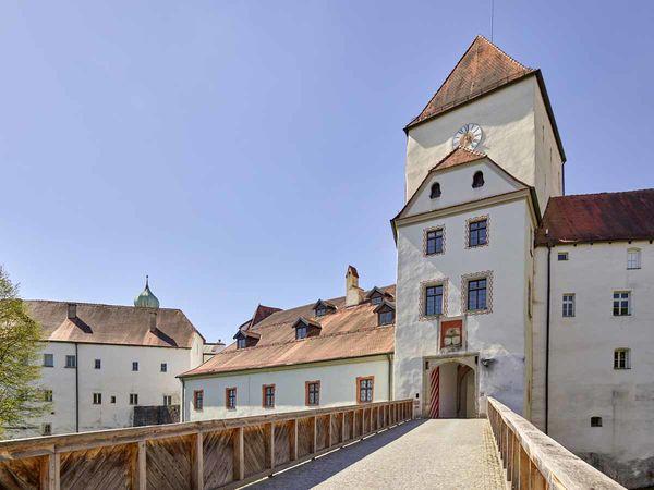 Eingang über den Brückenturm der Veste Oberhaus in Passau