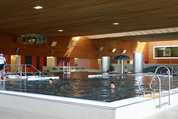 Innenbecken im Passauer Erlebnisbad peb in der Dreiflüssestadt Passau