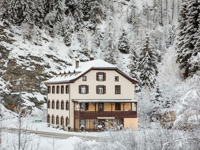 Bad Peiden, Winter