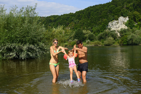 Baden an der Donau in Matting bei Regensburg