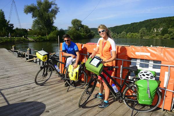 Unterwegs auf der Donau..