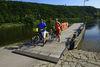 Mit der Fähre über die Donau