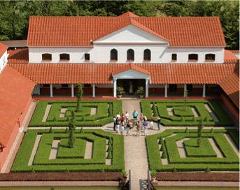 Plan Villa Urbana Romaine