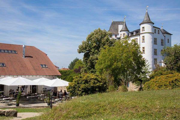 Schloss Berg Außenansicht