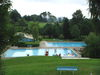 Blick auf das Familienbad in Perlesreut im Ilzer Land