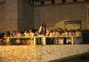 Abendmahl bei den Passionsspielen Perlesreut