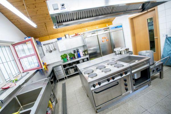 Gruppenküche am Zeltplatz Messerschmidmühle