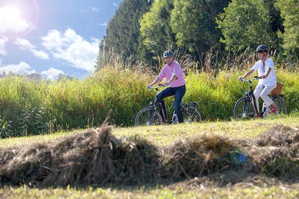 Unterwegs auf dem Drei-Täler-Radweg im Urlaubsland Rottal-Inn
