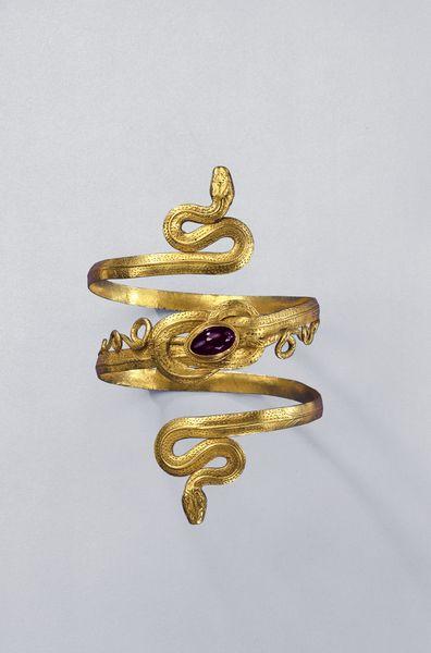 Schlangenarmreif Schmuckmuseum