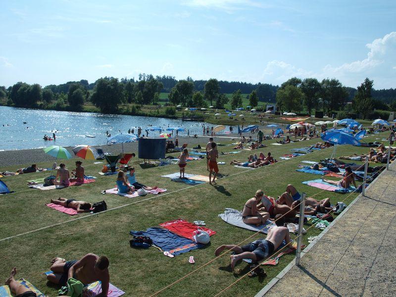 Strandbad Im Seepark Linzgau Nordlicher Bodensee