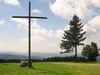 Gipfelkreuz am Almberg bei Mitterfirmiansreut