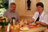 Gemütlich frühstücken im Landhotel Haus Waldeck in Mitterfirmiansreut