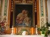 Altar mit Gnadenbild in der neuen Tussetkapelle in Philippsreut
