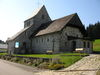 Blick auf die Pfarrkirche in Mitterfirmiansreut in der Gemeinde Philippsreut