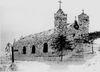 Historische Schneekirche von Mitterfirmiansreut im Jahre 1911