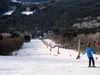 Die Doppel-Sesselbahn zum Großen Almberg im Skizentrum Mitterfirmiansreut-Philippsreut