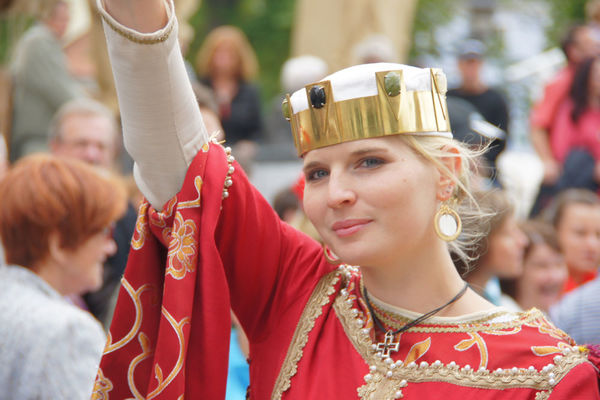 Krimhild aus dem berühmten Nibelungenlied