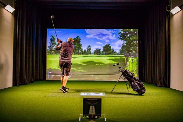 Golfindoor-Anlage