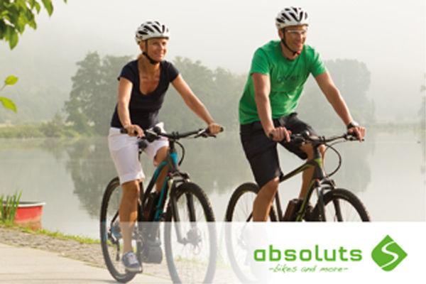 Mit den hochwertigen Rädern von absoluts - bikes and more - macht die Radtour um den Chiemsee gleich doppelt Spaß.