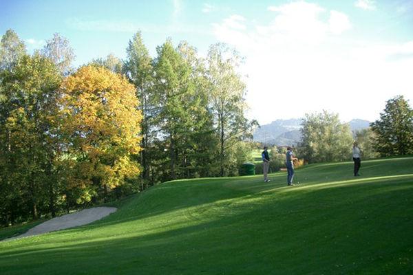 Golfanlage des Chiemsee Golfclubs Prien.