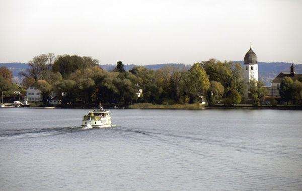 Chiemsee Schifffahrt zur Fraueninsel.