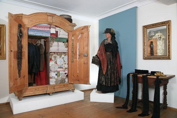 Tracht im Priener Heimatmuseum.