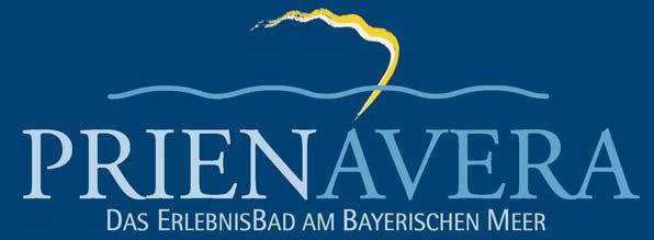 Offizielles Logo des Prienavera Erlebnisbades.