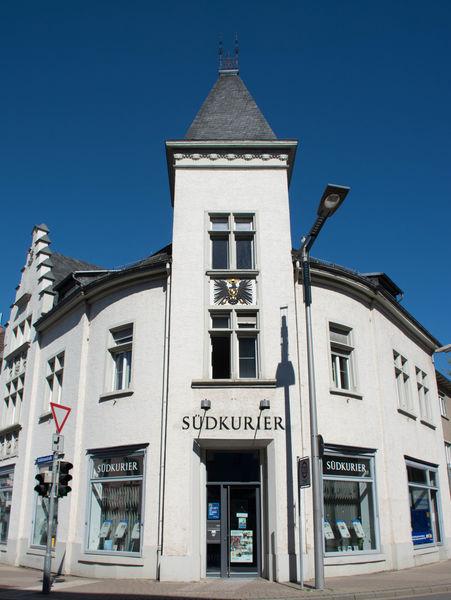Südkurier-Geschäftsstelle in der Alten Post in Radolfzell am Bodensee