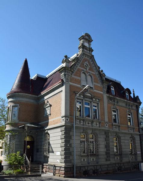 Carl Duisberg Centrum im Gebäude der alten Sparkasse in Radolfzell