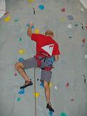 Kletterer im Kletterwerk Radolfzell