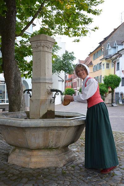 Stadtführung im Jahre 1551 mit Pfarrköchin Anna