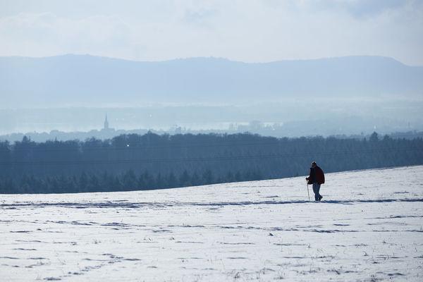 Schneckenberg bei Liggeringen im Winter