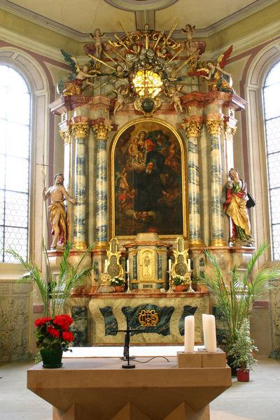 Altar der St. Gallus-Kirche