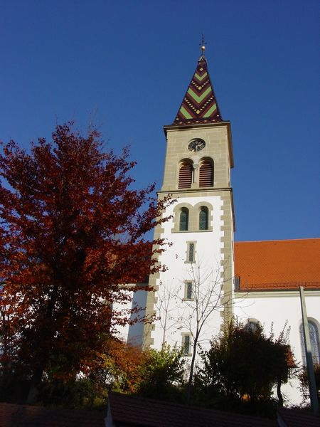 Turm der St. Georg-Kirche