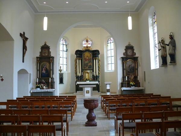 St. Nikolaus Kirche Böhringen