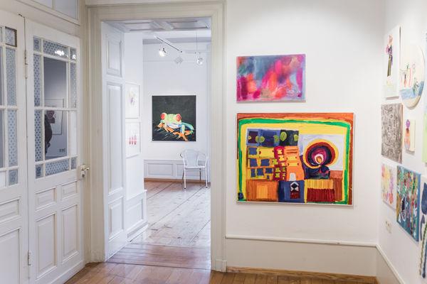 Ausstellung in der Villa Bosch